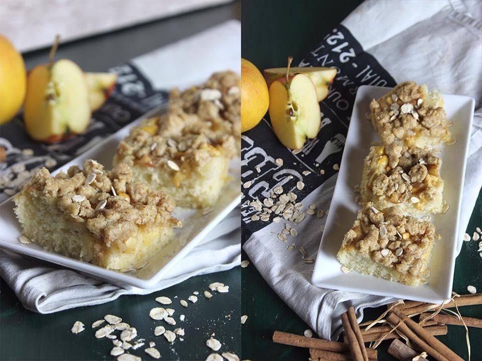 Apfel-Streusel-Kuchen – vegan, einfach & lecker