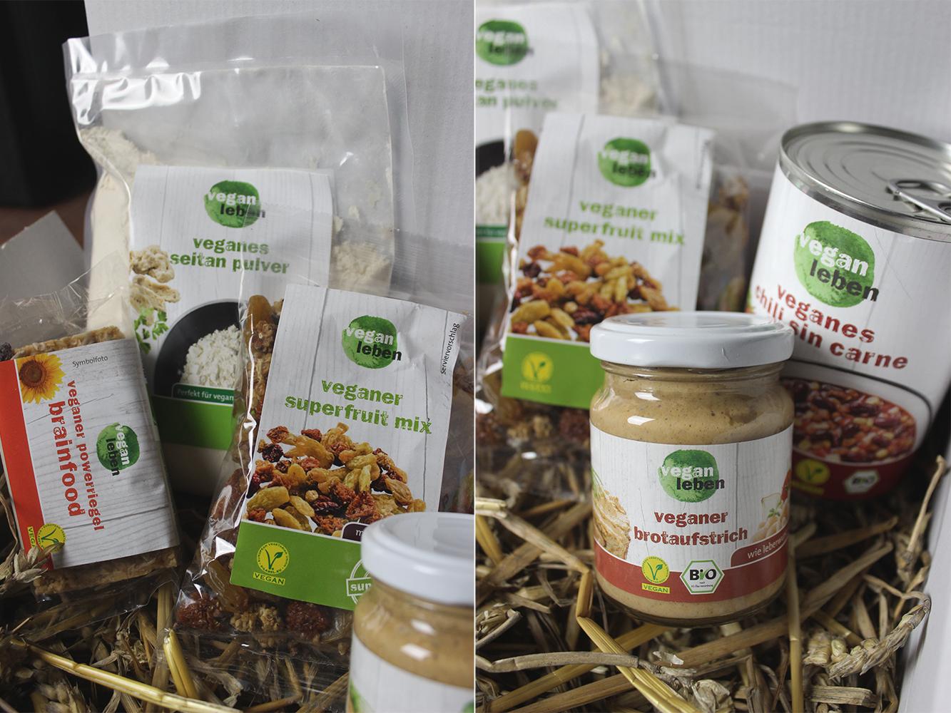 vegan leben Probier-Box – Neue Produktlinie
