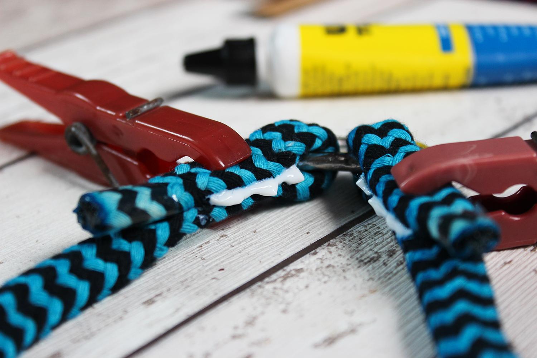 Seilenden zusammenkleben