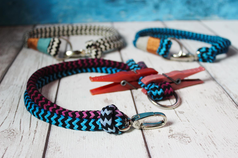 DIY Halsbänder für den Hund | Tauhalsbänder selbstgemacht